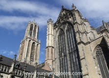 Climbing the Dom Tower in Utrecht Holland