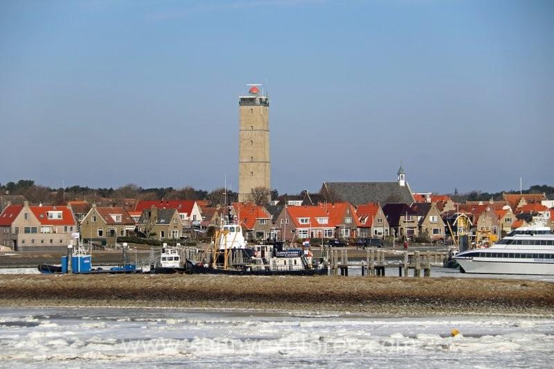 Winter magic at the Dutch island Terschelling