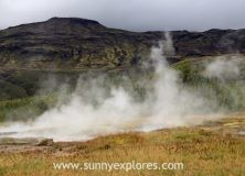 Waterfalls and geysers: exploring Icelands 'Golden Circle'