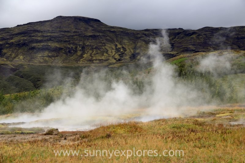 Waterfalls and geysers: exploring Iceland's Golden Circle