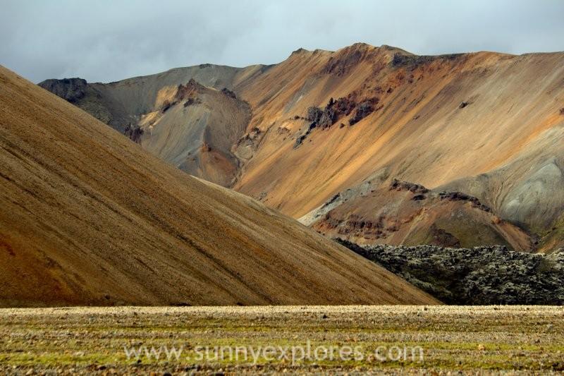 Exploring vast and wild Landmannalaugar in Iceland