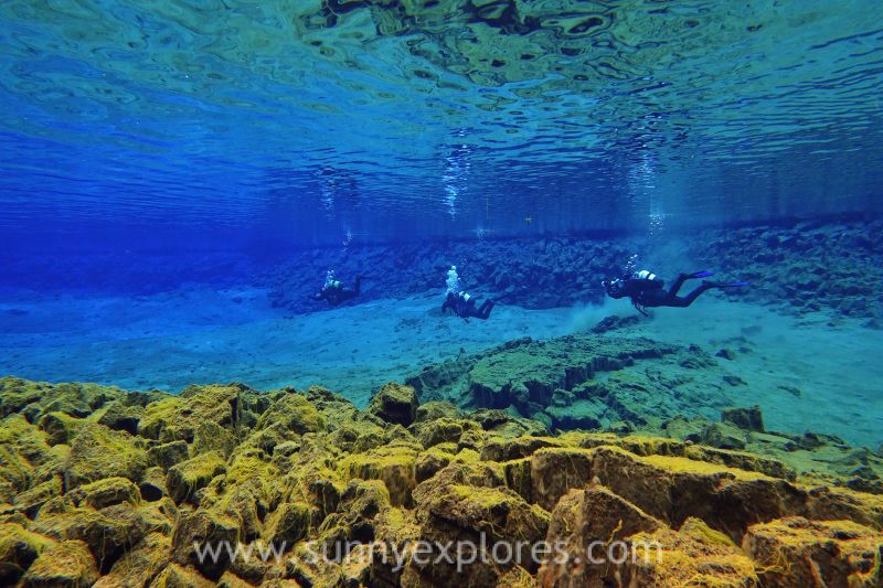 An unique experience: diving the Silfra fissure in Iceland