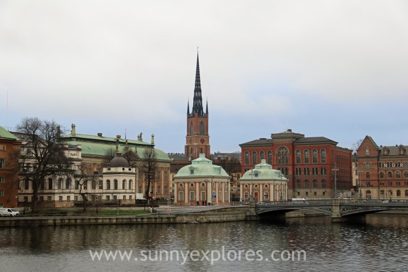 Stockholm, Sweden, city on the border of land and water