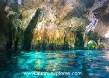 Diving the cenotes in Yucatán Mexico: Cenote Calavera