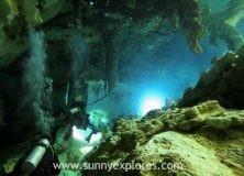 Diving the cenotes in Yucatán Mexico: Cenote Dos Ojos