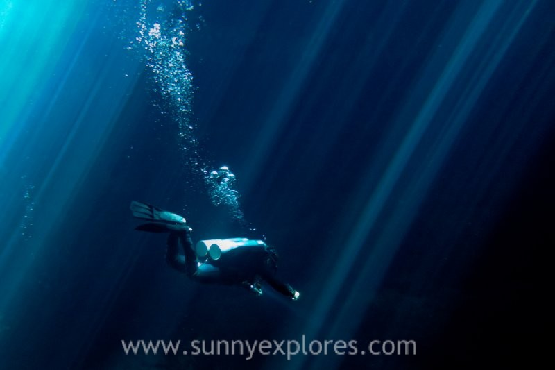 Diving in Mexico: the Cenotes in Yucatán
