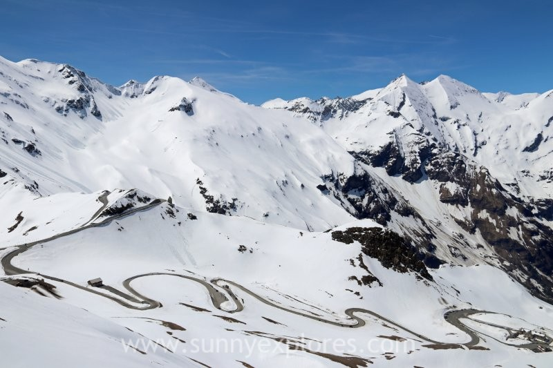 Driving the Grossglockner Hochalpenstrasse in Austria